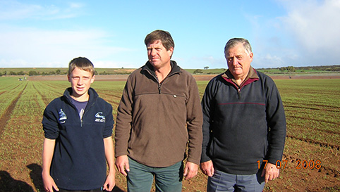 The McKerlie Family , Rivapak Growers